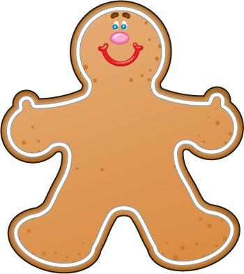 Gingerbread Girl Clip Art