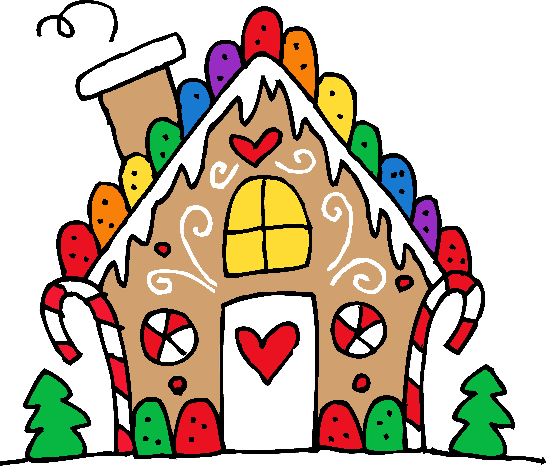 Gingerbread House Clip Art ... f3990c33ab5723628752c8610aa6b1 .