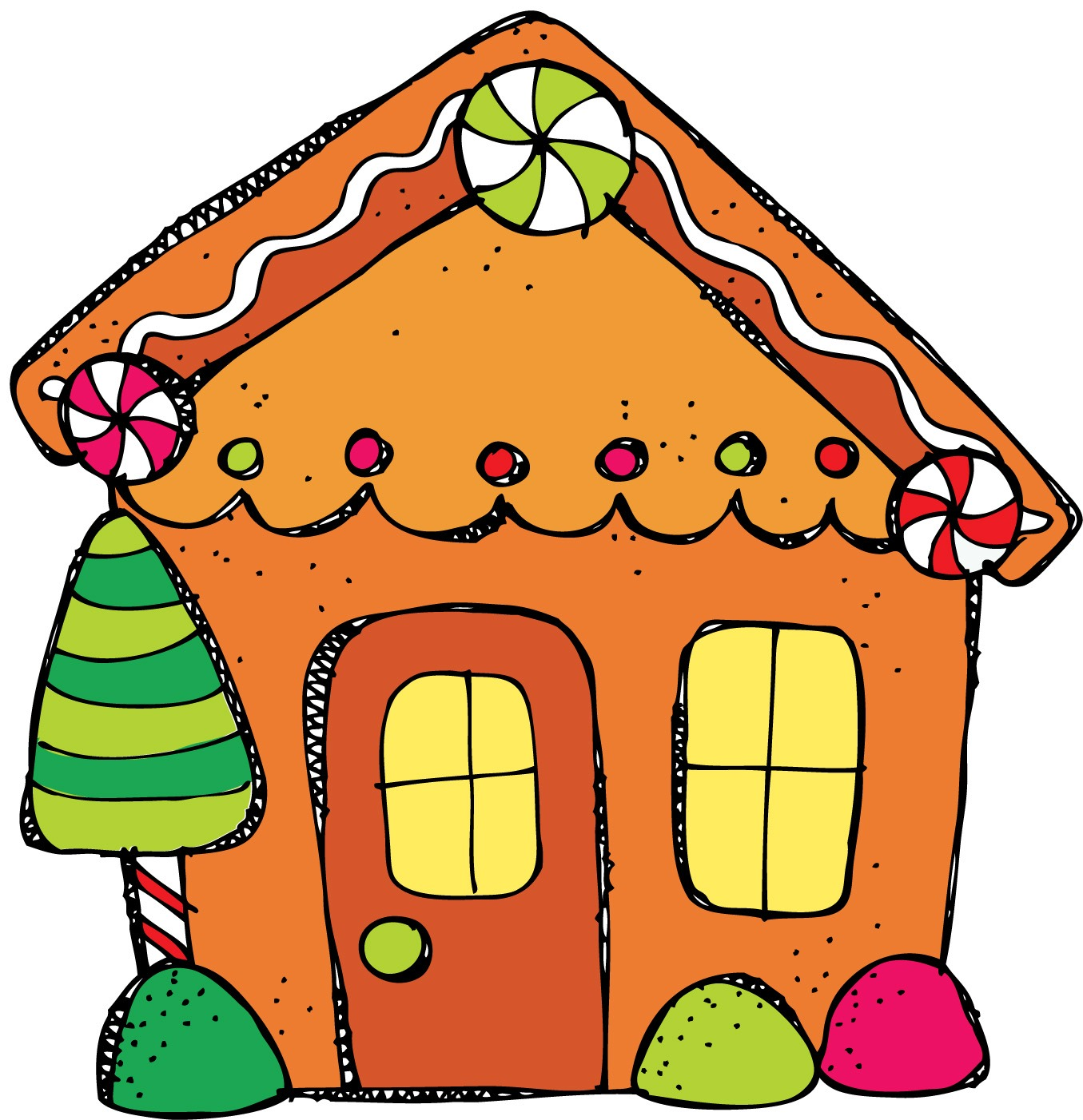 Gingerbread House Clip Art Free Cliparts Co