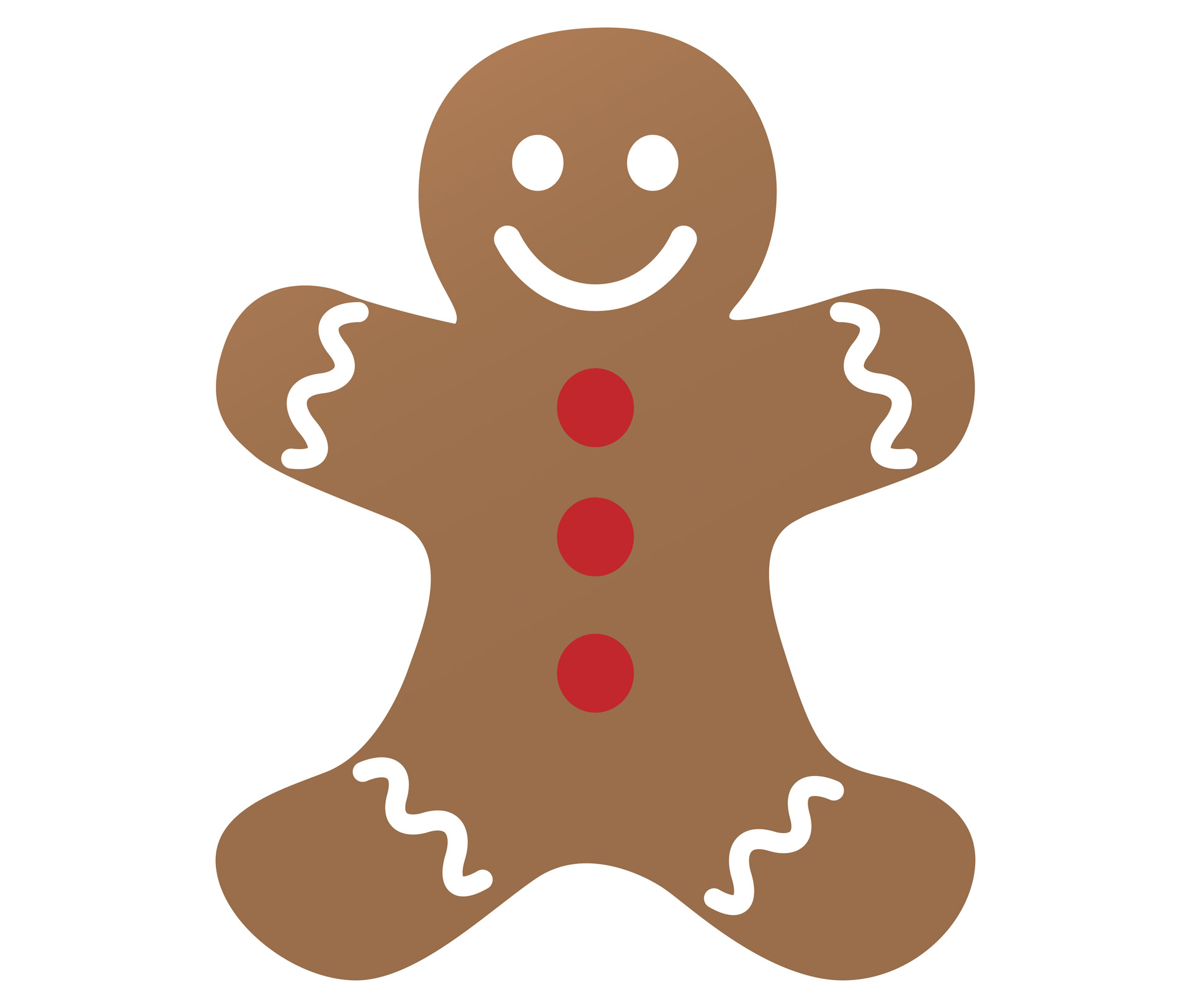 Gingerbread man clipart free stock photo public domain pictures