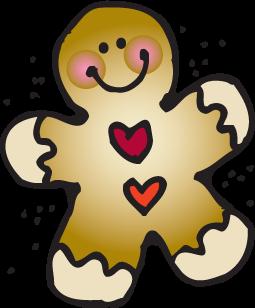 Gingerbread Man Clipart