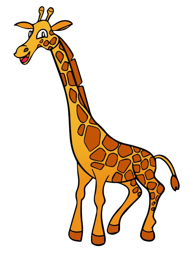 Giraffe Clip Art. giraffe14