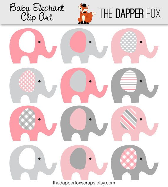 Girl Baby Elephant Clip Art ... 34d792fa0da78731abd49cecca09bf .