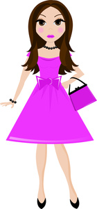 Girl Clipart Image: .