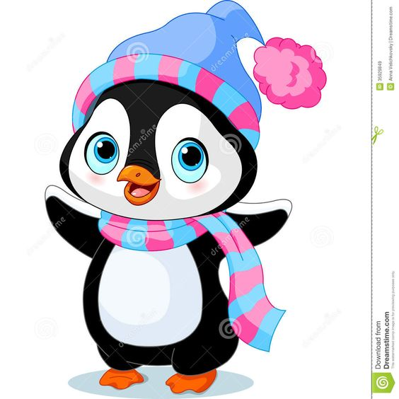girl penguins clipart - Google Search