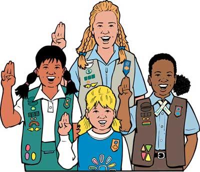 Girl scout daisy clip art