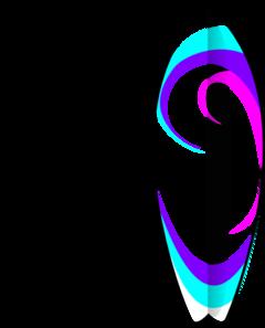 Girl Surfboard Clip Art At Clker Com Vector Clip Art Online Royalty