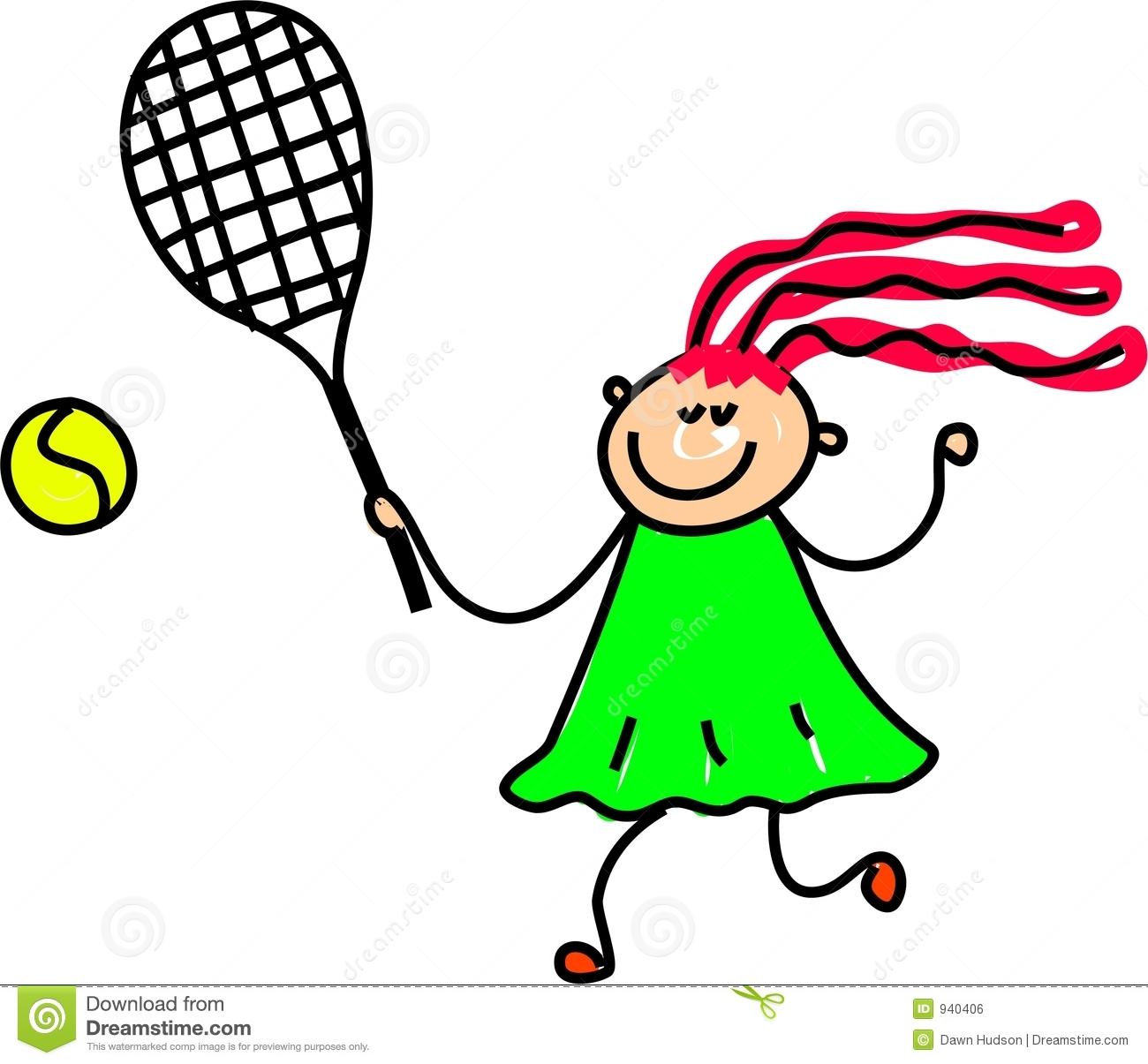 Girl Tennis Clipart Tennis Kid 940406 Jpg