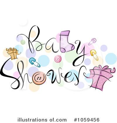 Girls Baby Shower Clip Art