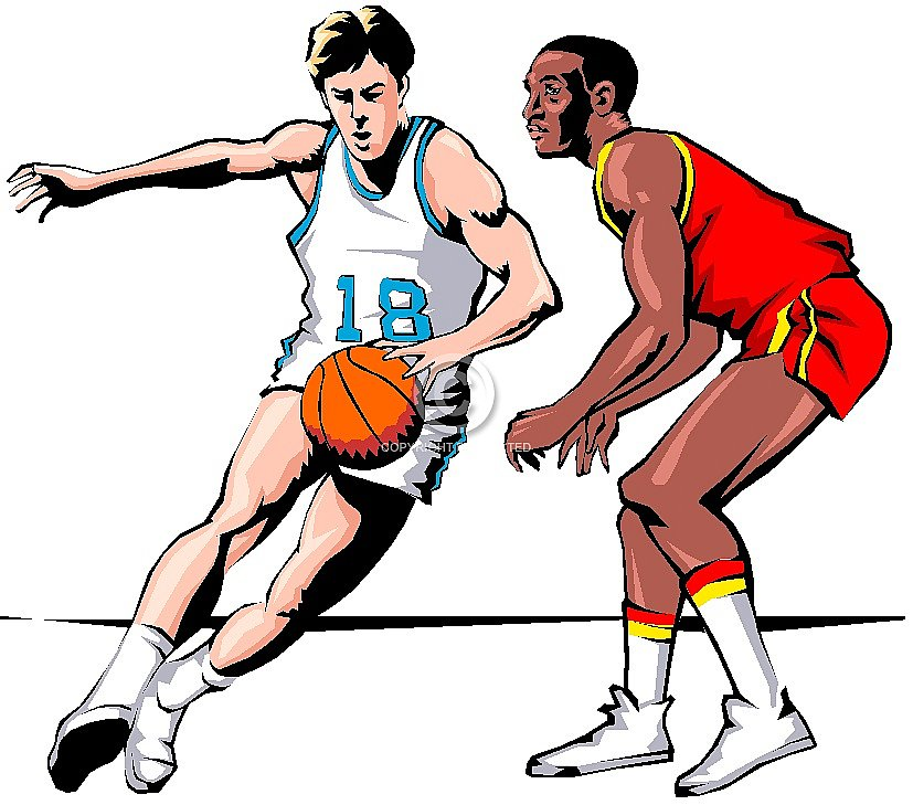 Basketball Player Cliparts #2664926 (License: Personal Use)