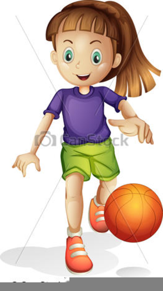Girls Basketball Clipart 2 this image as: