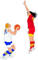 Moving clipart basketball #12