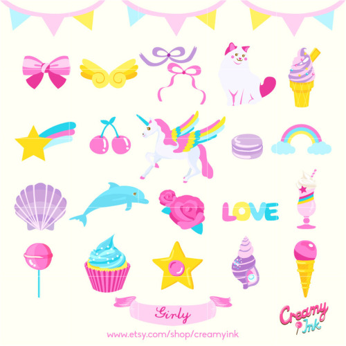girls party clipart | Tumblr