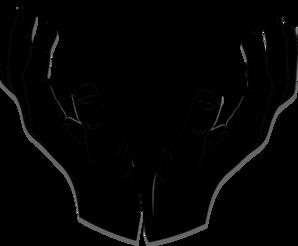 Giving Hand3 Clip Art