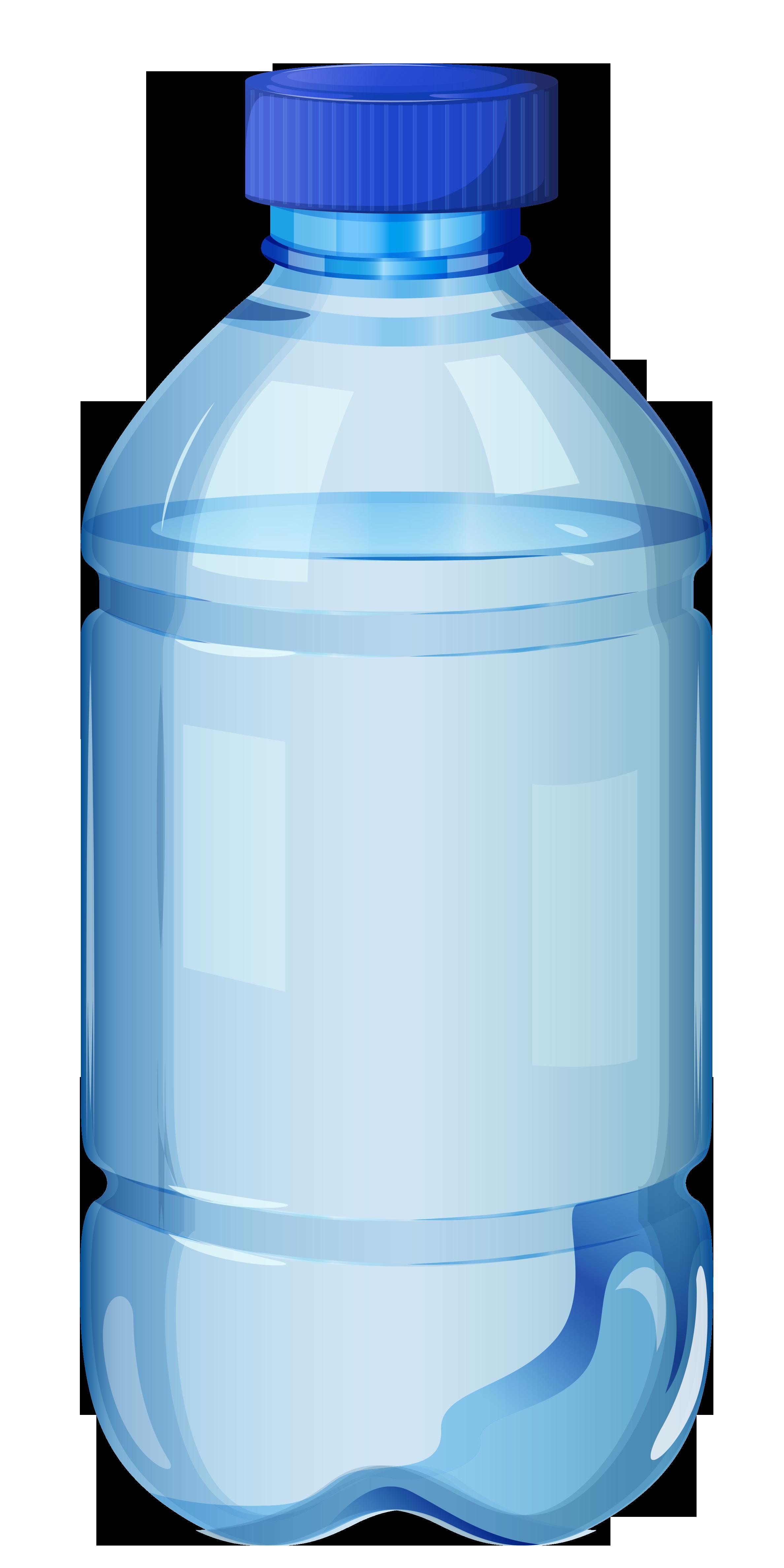 Glass Bottled Water Clip Art
