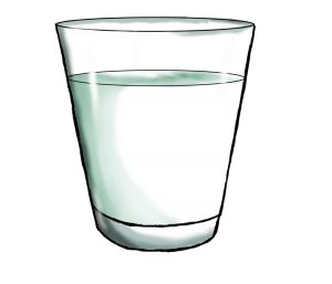 Glass clipart glass water #6