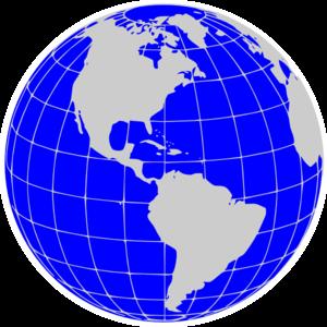 Globe Clipart Image #8661