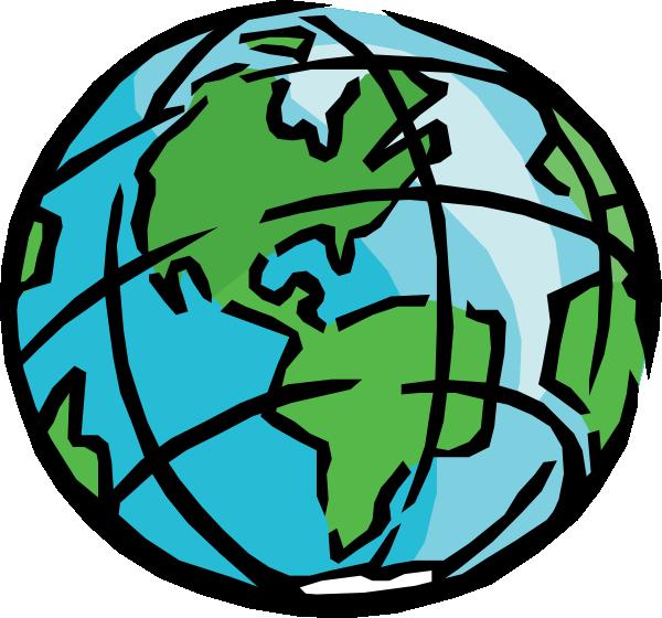 Globe earth clip art 2