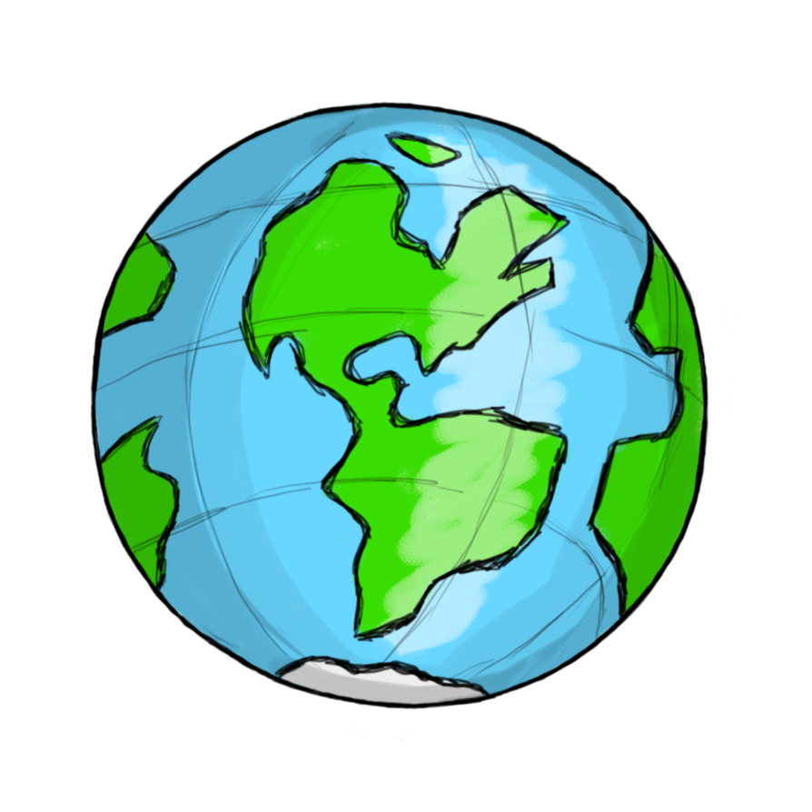 Globe earth clipart free .