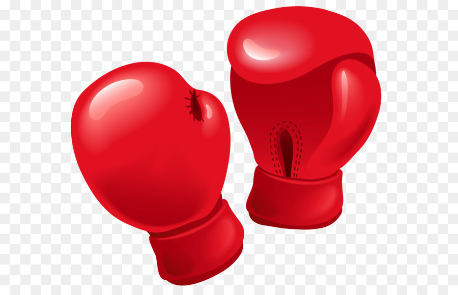 Boxing glove - Red Boxing Gloves PNG Vector Clipart