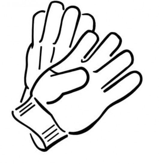 Clip art · Winter Gloves