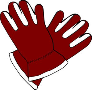 Red Gloves Clip Art
