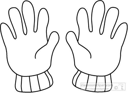 White Glove Clip Art