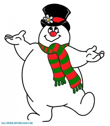 Go Back Gallery For Frosty The Snowman Clipart