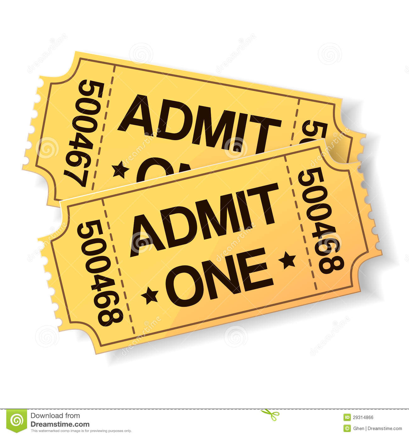 Go Back Images For Theater Tickets Clip Art