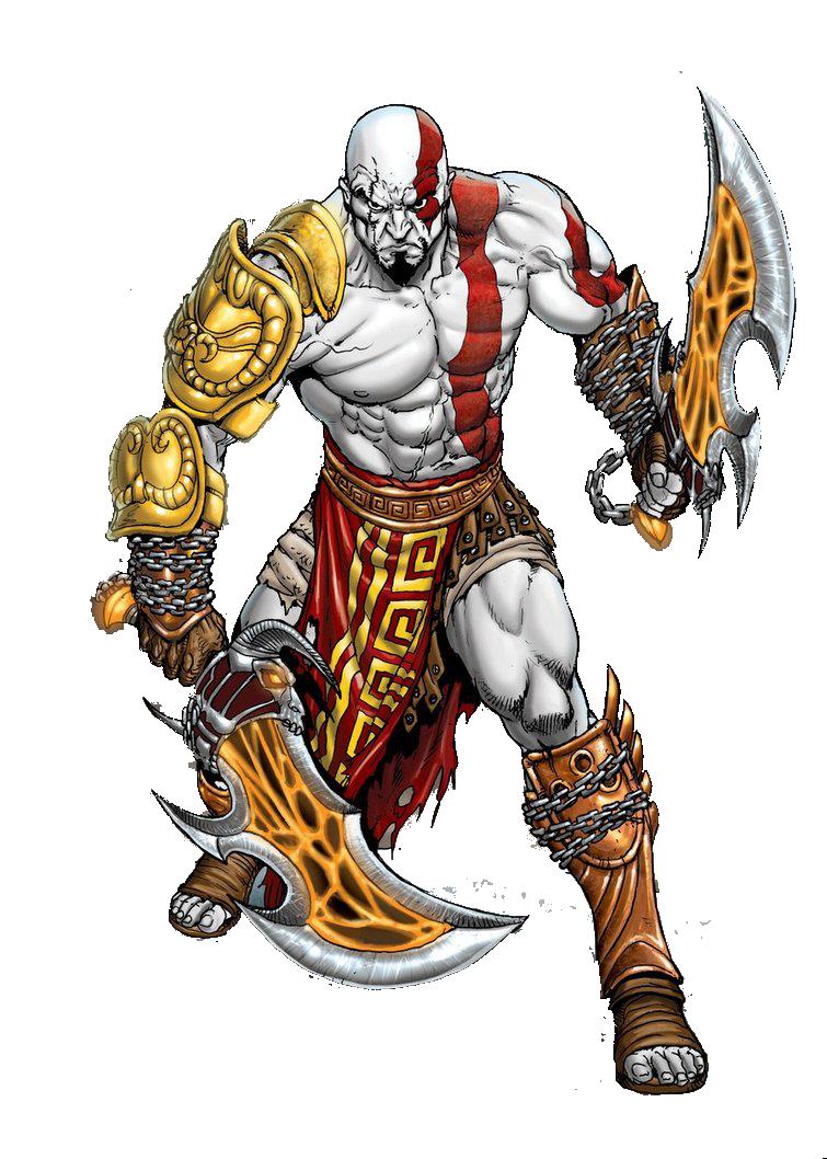 God of War Transparent Background