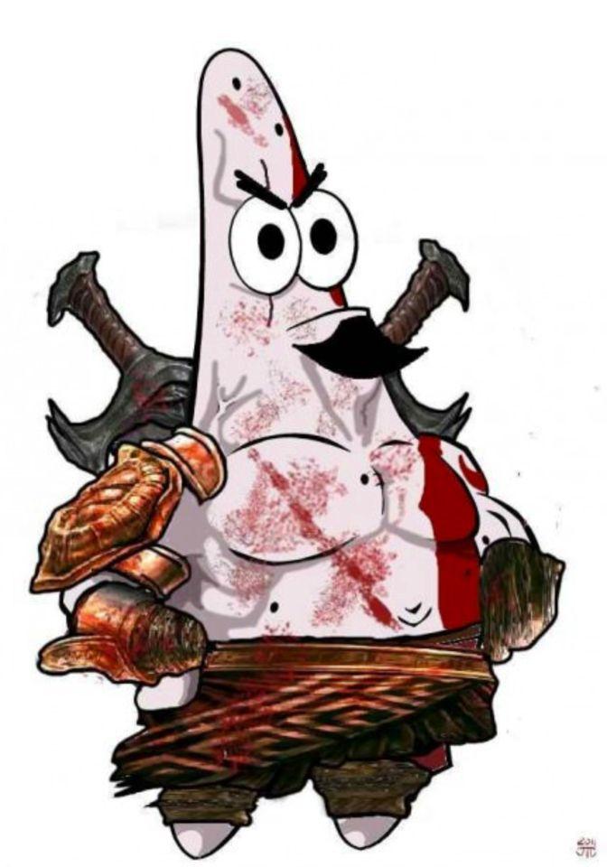 Reddit user Halvorsen320 post - God Of War Clipart