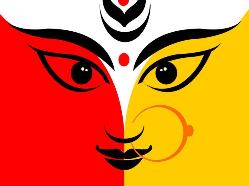 Durga: The Three-Eyed Indian Deity (Image: Img00.deviantart clipartlook.com