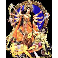 Goddess Durga Maa Png Picture PNG Image