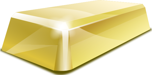 Gold Block Clip Art At Clker Com Vector Clip Art Online Royalty