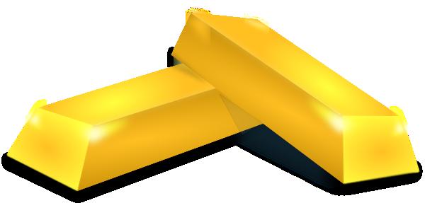 Gold Bricks Clip Art