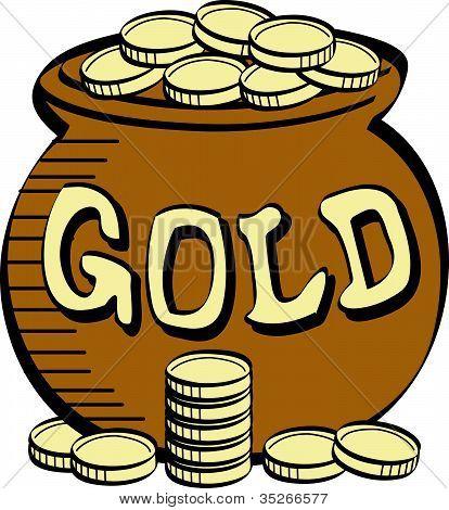 ... Gold Clip Art ...