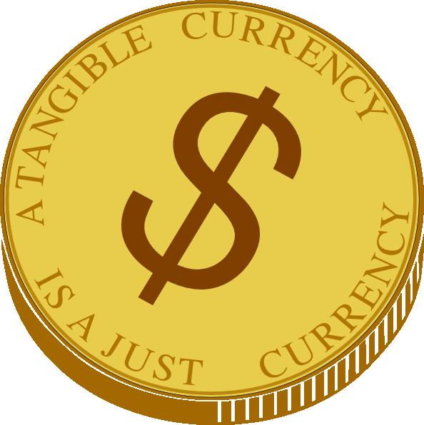 Gold Coin Clip Art At Clker Com Vector Clip Art Online Royalty Free