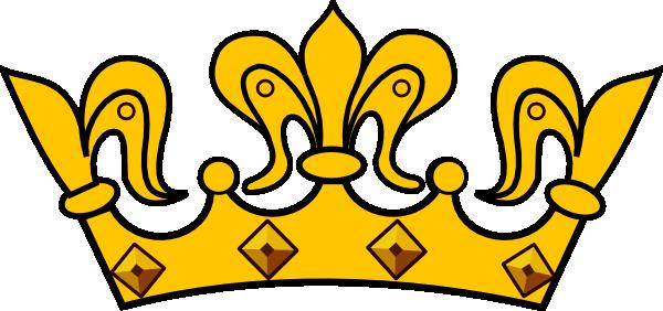 Gold Crown Clip Art At Clker .