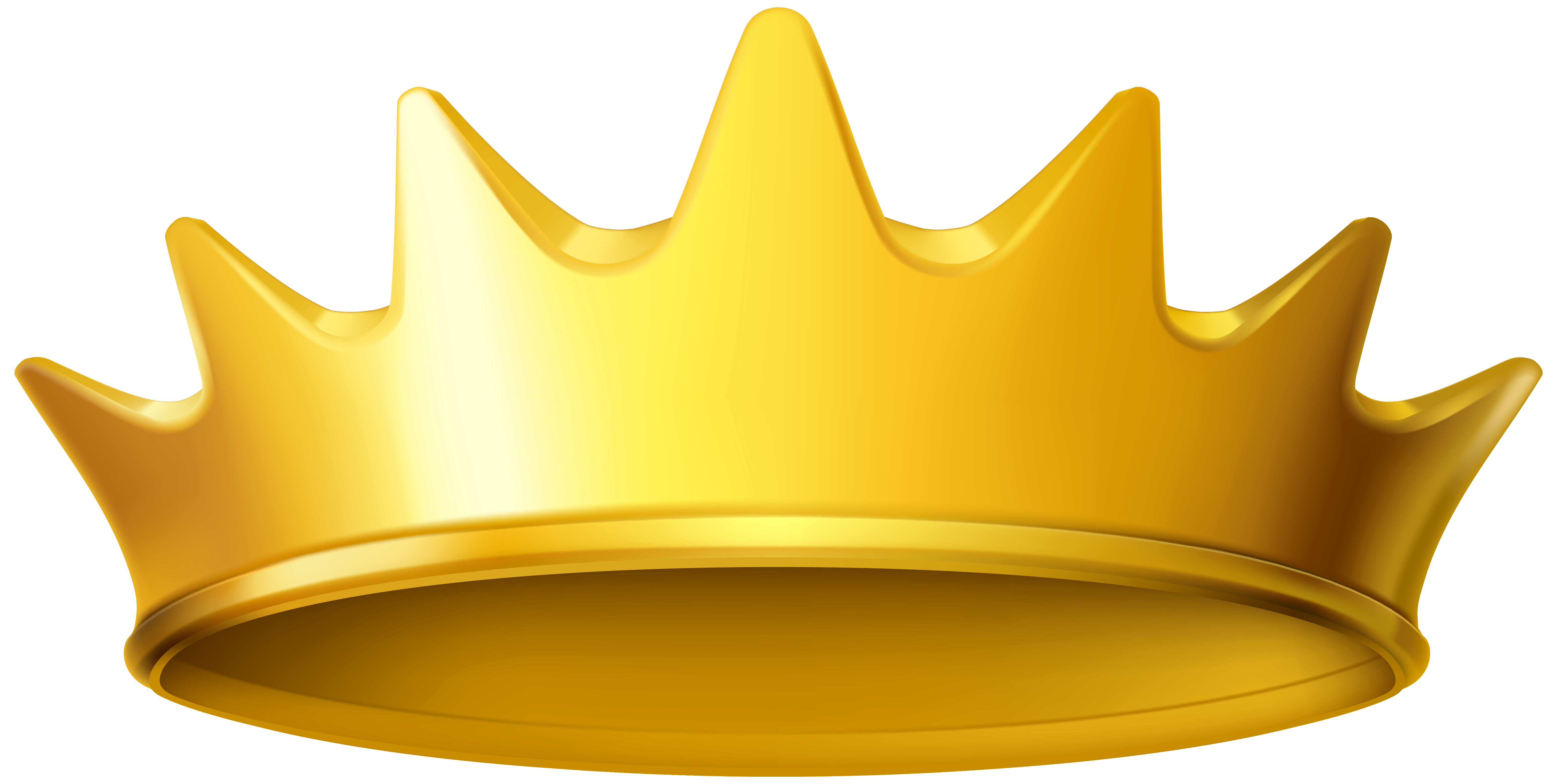 Gold Crown Clipart No .