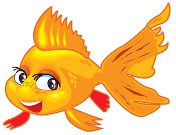 Gold Fish Clip Art Clipart Free Clipart