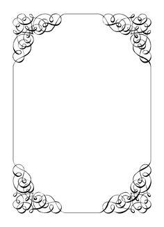 Gold Frame Clip Art Free. Calligraphic Frame Wedding .