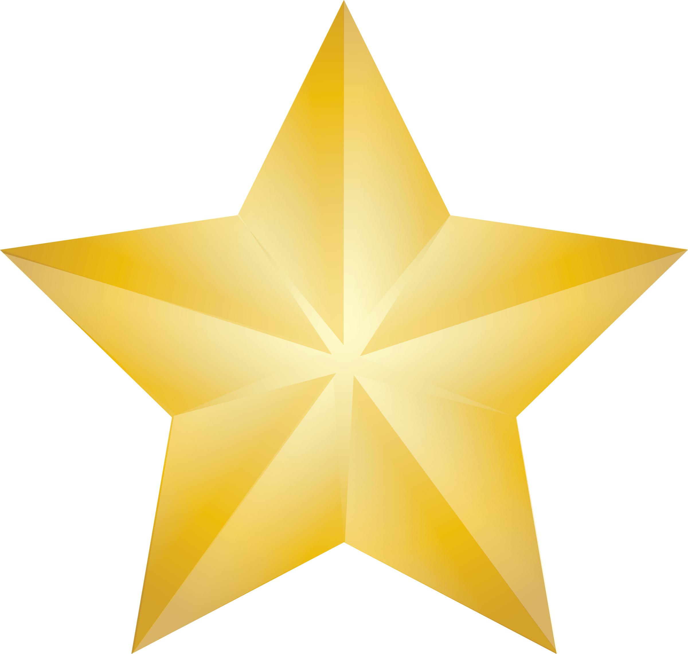 Gold Star Award Clip Art ..