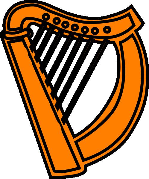 Golden Harp Royal Clip Art At ..