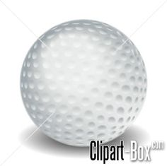 CLIPART GOLF BALL 2