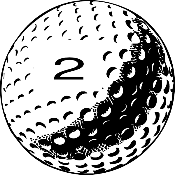 Golf Ball Clipart 2 This Image As: