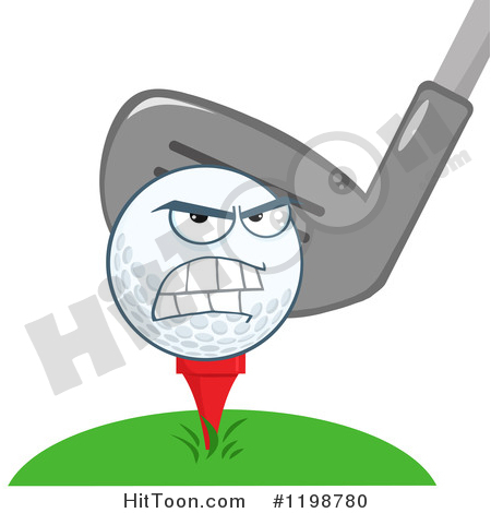 Golf Ball Clipart 2 Larger Clipart