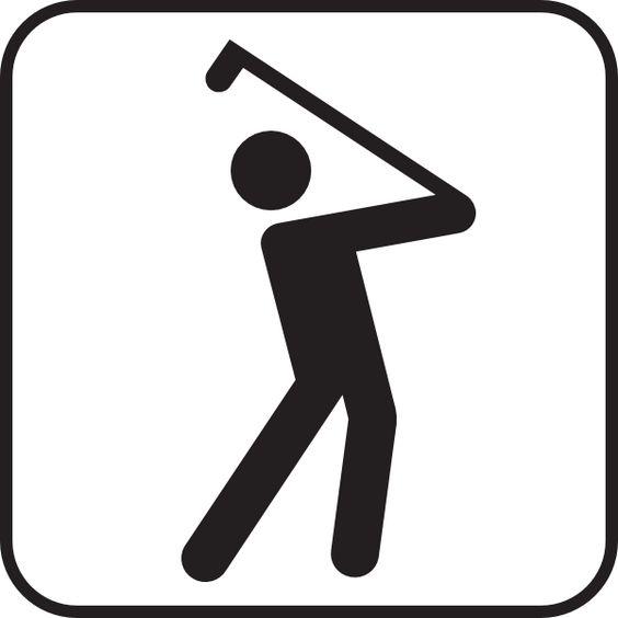 Golf Club Clip Art   Golf Course clip art - vector clip art online, royalty