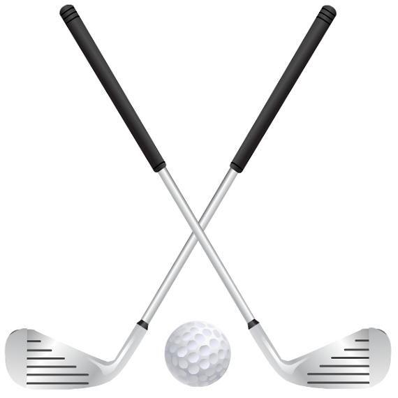 Golf club clipart png - .