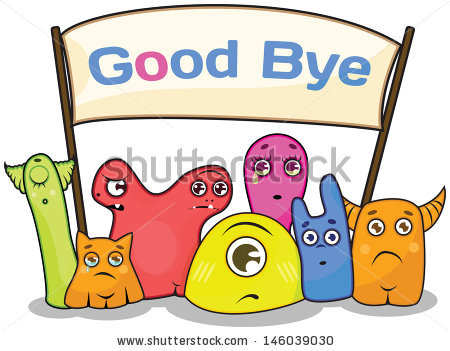 good-bye clipart