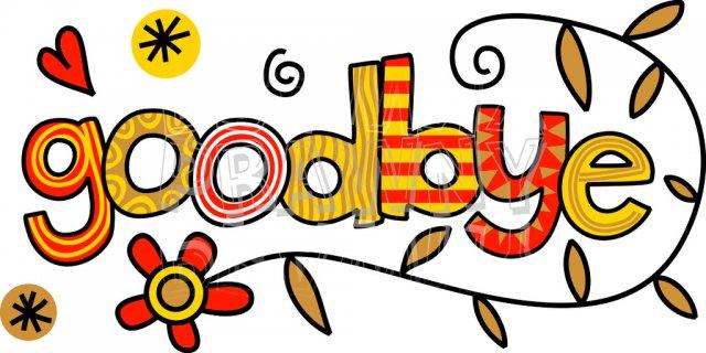 Good Bye Clip Art - Getbellhop